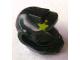 Part No: 12899pb01  Name: Minifigure, Headgear Helmet Elaborate with Lime Paint Spot Pattern