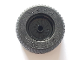 Part No: 18976c02  Name: Wheel 18mm D. x 12mm with Axle Hole and Stud with Black Tire 30.4 x 14 Solid (18976 / 58090)