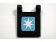 Part No: 2335pb073  Name: Flag 2 x 2 Square with Maersk Logo Pattern (Sticker) - Set 10219