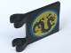 Part No: 2335px1  Name: Flag 2 x 2 Square with Black Dragon Pattern