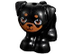 Part No: 24111pb02  Name: Dog, Friends, Pug, Standing with Medium Dark Flesh Eyes, Muzzle and Spots Pattern (Apollo)
