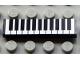Part No: 2431pb069  Name: Tile 1 x 4 with Keyboard Pattern (Sticker) - Set 5942