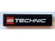 Part No: 2431pb320  Name: Tile 1 x 4 with LEGO TECHNIC Logo Pattern (Sticker) - Set 8110