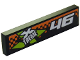 Part No: 2431pb452R  Name: Tile 1 x 4 with '46' and Xtreme Logo Pattern Model Right (Sticker) - Set 60146