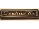 Part No: 2431pb594  Name: Tile 1 x 4 with SW Millennium Falcon Control Panel Pattern (Sticker) - Set 75105