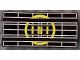 Part No: 2440p69  Name: Hinge Panel 6 x 3 with Yellow Radar Pattern