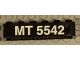 Part No: 2456pb001  Name: Brick 2 x 6 with 'MT 5542' Pattern on Both Sides (Stickers) - Set 5542