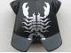 Part No: 2587pb15  Name: Minifigure, Armor Breastplate with Leg Protection, Vladek Scorpion Silver Pattern