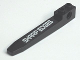 Part No: 2823pb02L  Name: Technic Forklift Fork with 'SHARP EDGES' Left Pattern (Sticker) - Set 7709
