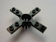 Part No: 2906  Name: Technic Propeller 4 Blade 7 Stud Diameter with Square Ends