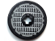 Part No: 2958pb017  Name: Technic, Disk 3 x 3 with Grille Pattern (Sticker) - Set 4504