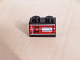 Part No: 3004pb031L  Name: Brick 1 x 2 with Taillight Left Pattern (Sticker) - Set 8280