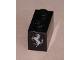 Part No: 3004pb120  Name: Brick 1 x 2 with Ferrari Logo, Silver Horse Pattern on End (Sticker) - Set 8653