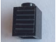 Part No: 3005pb047  Name: Brick 1 x 1 with 5 Horizontal Dark Bluish Gray Stripes Pattern (Sticker) - Set 75872