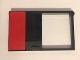 Part No: 30073pb02  Name: Door 1 x 6 x 8 Left with Red Rectangle Pattern (Sticker) - Set 5571