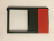 Part No: 30074pb02  Name: Door 1 x 6 x 8 Right with Red Rectangle Pattern (Sticker) - Set 5571