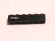 Part No: 3009pb217L  Name: Brick 1 x 6 with White '7750' Pattern Model Left Side (Sticker) - Set 7750