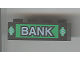 Part No: 3010pb016  Name: Brick 1 x 4 with Bank and Dollar Signs Pattern