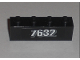 Part No: 3010pb110  Name: Brick 1 x 4 with White '7632' Pattern (Sticker) - Set 7632