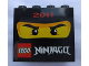 Part No: 30144pb109  Name: Brick 2 x 4 x 3 with Ninjago 2011 Pattern