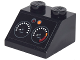 Part No: 3039pb103  Name: Slope 45 2 x 2 with Dashboard with 2 Gauges and Orange and Red Lights Pattern (Sticker) - Set 70903