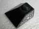 Part No: 3045pb02L  Name: Slope 45 2 x 2 Double Convex with Gauges Pattern Left (Sticker) - Sets 8431 / 8438 / 8460