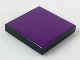Part No: 3068bpb0081  Name: Tile 2 x 2 with Groove with Purple Top Pattern