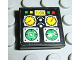 Part No: 3068bpb0124  Name: Tile 2 x 2 with Groove with Avionics Helicopter Controls Pattern (Sticker) - Set 8253
