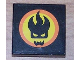 Part No: 3068bpb0391  Name: Tile 2 x 2 with Groove with Agents Dr. Inferno Logo Pattern (Sticker)