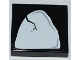 Part No: 3068bpb0451  Name: Tile 2 x 2 with Groove with Cracked Tooth / Stone Pattern (Sticker) - Set 2520