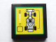 Part No: 3068bpb1073  Name: Tile 2 x 2 with Groove with F1 Race Car and Bar Gauge Pattern (Sticker) - Set 75913
