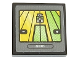 Part No: 3068bpb1246  Name: Tile 2 x 2 with Groove with 'CLAAS' and Tractor Screen Pattern (Sticker) - Set 42054