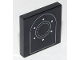 Part No: 3068bpb1281  Name: Tile 2 x 2 with Groove with Arch Outline, Two Circles and Six Rivets Pattern
