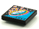 Part No: 3068bpb1597  Name: Tile 2 x 2 with Groove with BeatBit Album Cover - Clock Reentering Atmosphere Pattern