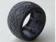 Part No: 31351  Name: Duplo, Toolo Tire with Circle and Trapezoid Pattern