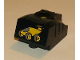 Part No: 31427c01pb01  Name: Duplo, Toolo MyBot Engine Program Brick with Yellow Car Pattern