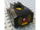 Part No: 31431c01pb01  Name: Duplo, Toolo MyBot Engine Program Brick with Yellow Siren Pattern