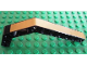 Part No: 32009pb010  Name: Technic, Liftarm 1 x 11.5 Double Bent Thick with Gold Stripe Pattern (Sticker) - Set 8007