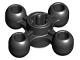 Part No: 32072  Name: Technic, Knob Wheel