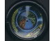 Part No: 32171pb036  Name: Throwbot Disk, Millennia and Jet / Judge, 8 pips, multi-color sectioned globe Pattern