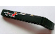 Part No: 32271pb004R  Name: Technic, Liftarm 1 x 9 Bent (7 - 3) Thick with Flames Pattern Model Right (Sticker) - Set 8646