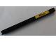 Part No: 32278pb021  Name: Technic, Liftarm 1 x 15 Thick with Black 'BILL' on Yellow Background Pattern (Sticker) - Set 8258