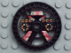 Part No: 32303pb01  Name: Technic, Disk 5 x 5 Blazooka Pattern