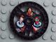Part No: 32350pb01  Name: Technic, Disk 5 x 5 Twin Saw Pattern