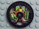Part No: 32357pb01  Name: Technic, Disk 5 x 5 Toxic Pattern