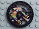 Part No: 32358pb01  Name: Technic, Disk 5 x 5 Flame Pattern