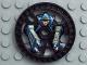 Part No: 32359pb01  Name: Technic, Disk 5 x 5 Stunner Pattern