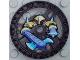 Part No: 32361pb01  Name: Technic, Disk 5 x 5 Axer Pattern