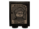 Part No: 3245cpb110  Name: Brick 1 x 2 x 2 with Inside Stud Holder with 'MISSIN', Woman Minifigure with Glasses, and 'BARBARA HOLLAND' Pattern (Sticker) - Set 75810
