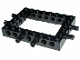 Part No: 32532c01  Name: Technic, Brick 6 x 8 Open Center with 2 Fixed Rotatable Friction Pins on 3 Sides